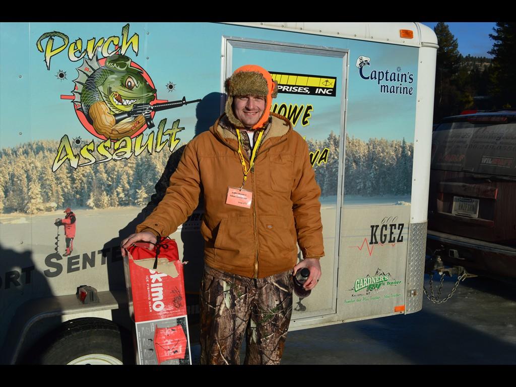 Colin wins the Eskimo