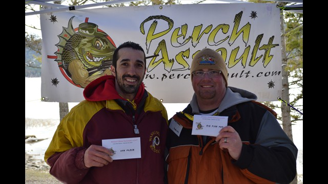 Tony and Justin - LMR 5th Place and big fish